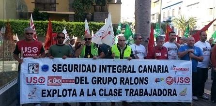 UGT denuncia retrasos en el abono de los salarios en Seguridad Integral Canarias de Miguel Ángel Ramírez Alonso